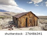 Abandoned Old Miner's Cabin In...