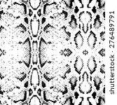 snake skin texture. seamless... | Shutterstock .eps vector #276489791