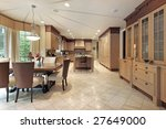 kitchen with eating area | Shutterstock . vector #27649000