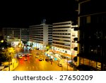 Night View Of Syntagma Square...