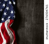 american flag for memorial day... | Shutterstock . vector #276504761