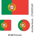 portugal flag | Shutterstock .eps vector #276505169
