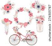 Bicycle Flower   Wedding  ...