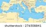region of lands around the... | Shutterstock .eps vector #276508841