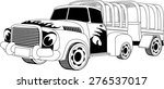 black and white illustration of ...   Shutterstock . vector #276537017