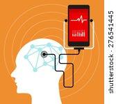 brain mental health neuro... | Shutterstock .eps vector #276541445