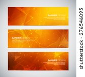 vector banners set with... | Shutterstock .eps vector #276546095