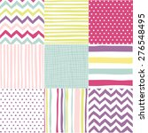 set of patterns | Shutterstock .eps vector #276548495