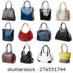 female handbags collection... | Shutterstock . vector #276551744