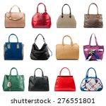 female handbags collection... | Shutterstock . vector #276551801