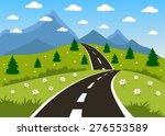illustration of a cartoon... | Shutterstock . vector #276553589