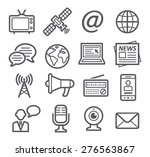 media icons | Shutterstock . vector #276563867