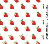 strawberries background    Shutterstock .eps vector #276568259
