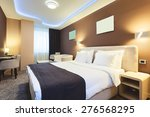 interior of a hotel room for... | Shutterstock . vector #276568295