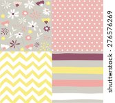 set of seamless patterns | Shutterstock .eps vector #276576269