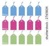 gift tags   Shutterstock .eps vector #2765834