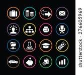 b2b icons universal set for web ... | Shutterstock .eps vector #276605969