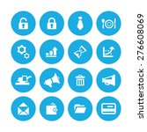 b2b icons universal set for web ... | Shutterstock .eps vector #276608069