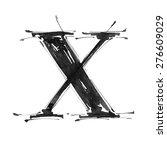 letter x. alphabet symbol  ... | Shutterstock .eps vector #276609029