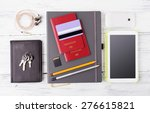 different objects for traveling ... | Shutterstock . vector #276615821