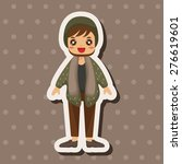 boy man cartoon   cartoon... | Shutterstock . vector #276619601