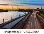 portland  oregon view of the... | Shutterstock . vector #276623054