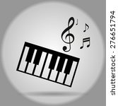 musical instruments | Shutterstock .eps vector #276651794