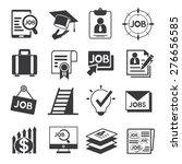 job icons | Shutterstock .eps vector #276656585