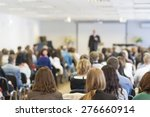people on the conference... | Shutterstock . vector #276660914