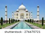 taj mahal. agra  india | Shutterstock . vector #276670721