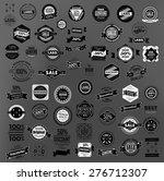set of retro vintage labels ... | Shutterstock .eps vector #276712307