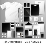 abstract  business set.... | Shutterstock .eps vector #276715211