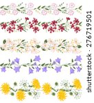 seamless pattern brush with... | Shutterstock .eps vector #276719501