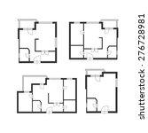 vector illustration. furniture... | Shutterstock .eps vector #276728981