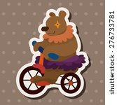 circus animal   cartoon sticker ... | Shutterstock . vector #276733781