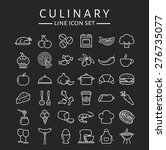 food and cooking web icons. set ... | Shutterstock .eps vector #276735077