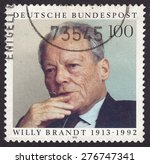 germany  circa 1993  stamp... | Shutterstock . vector #276747341