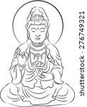 buddha | Shutterstock .eps vector #276749321