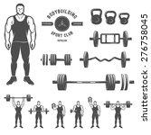 sports equipment for...   Shutterstock .eps vector #276758045