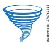 vortex symbol clip art isolated. | Shutterstock .eps vector #276761915
