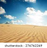 sand desert  | Shutterstock . vector #276762269