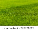 perfect green soccer pitch... | Shutterstock . vector #276763025