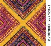 tribal vintage ethnic seamless... | Shutterstock .eps vector #276764675