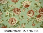 colorful cotton fabric in... | Shutterstock . vector #276782711