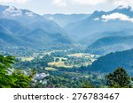 The Natural Landscape View Of...