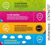 flyer brochure designs. happy...   Shutterstock .eps vector #276786737
