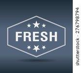 fresh hexagonal white vintage... | Shutterstock .eps vector #276798794