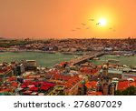 Panoramic Golden Horn Sunset...