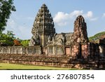 the castle of thailand | Shutterstock . vector #276807854