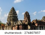 the castle of thailand | Shutterstock . vector #276807857